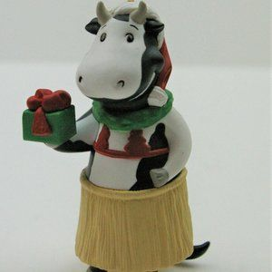 1995 Hallmark Keepsake Christmas Cows of Bali NEW